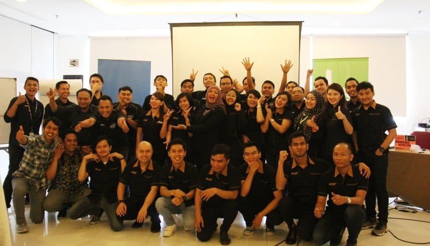 Pelatihan Leadership Acer Indonesia