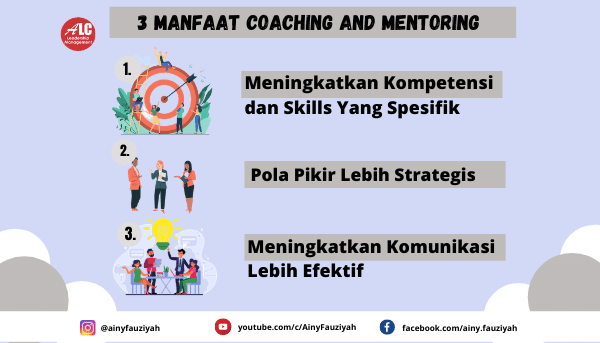 3 Manfaat Coaching and Mentoring