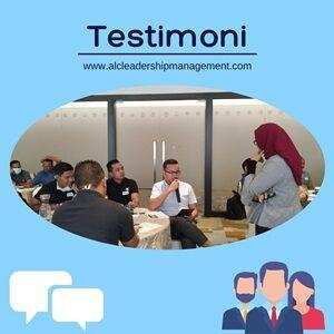 Testimoni peserta pelatihan sdm