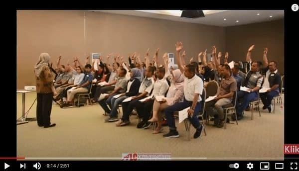 Pelatihan Leadership Fundamental Bersama PT Saptaindra Sejati