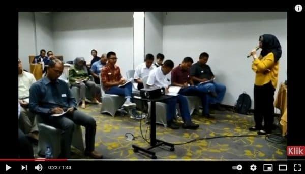 Training Leadership bersama Para Pembicara PT Saptaindra Sejati